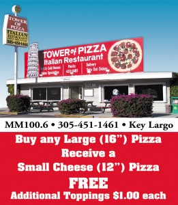 Tower of Pizza Key Largo