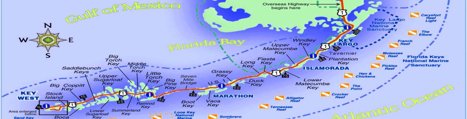 Map Florida Keys.Florida Keys Map Florida Keys Discounts Couponsflorida Keys